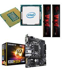 Bundle PC 91: Intel I7 9700K 8x4,9 Ghz Turbo / Gigabyte B360M / 16 GB PC2666