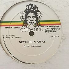 "Roland Burrel - Belinda / Freddy McGregor - Never Run Away - 12"" 45t Rare VG+ ♫"