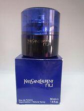 Nu By Yves Saint Laurent Eau De Toilette Spray 1.6 Fl Oz/50 ml RARE Read Descr.