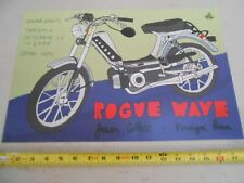 "Rare September 28 2006 Rogue Wave "" Cole Gerst "" Concert Poster Jason Collett"