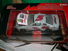 1/24 1996 Racing Champions #5 Iron man silver paint job, premier Hood Open