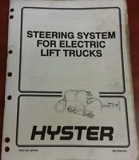 Hyster Steering System For Electric Lift Trucks Part No.897450 1600 SRM 485