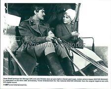 1965 Dr. Zhivago Original Press Photo Printed 1995 Omar Sharif Julie Christie