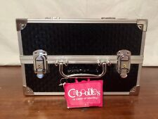 CABOODLES LOVESTRUCK 11.75 ULTIMATE TRAIN CASE COSMETIC BAG BLACK BRAND NEW