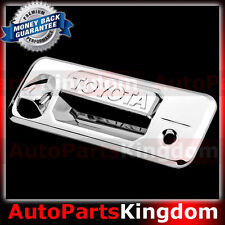 14-16 Toyota Tundra Double Cab Trim Overlay Chrome Tailgate Handle Cover 2015