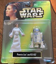 Star Wars Princess Leia Collection | Vintage 1997 Toy Figures On Card | Vtg Nos