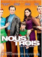 DVD ☆ NOUS TROIS ☆ RENAUD BERTRAND ☆ OCCASION