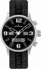Jacques Lemans 1-1716A Men's Watch Black