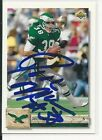 Autographed Rich Miano Philadelphia Eagles 1992 Upper Deck  Football Card #210