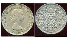 GREAT BRITAIN - ROYAUME UNI  two shilling 1963   ( etat )