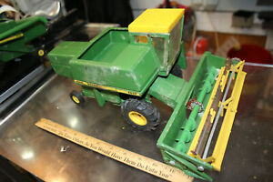 VINTAGE 1960's John Deere Farm Toy Combine 6600 USED Estate Purchase WOW!  JSH