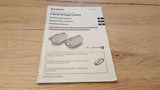Originale Sony manual de instrucciones para dcr-sr32/33 u.s.w 12 meses de garantía *