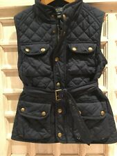 Polo by Ralph Lauren Girls Black Vest 8