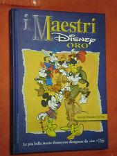 MAESTRI DISNEY- SERIE ORO- cartonato- SPECIALE MASSIMO DE VITA-edizioni disney