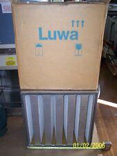 "Luwa N-F8-V40-610-Rf UltraFilter Hepa Air Fillter 24"" by 24"" Element ss"