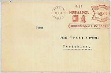WHATCH Czechoslovakia Bohemia-Moravia POSTAL HISTORY - MACHINE POSTMARK 1940