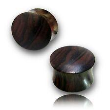 Pair Of Organic 6G 4Mm Sono Wood Plugs organic body jewelry Double Flared