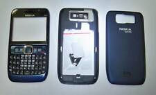 Blue housing cover fascia facia faceplate case for Nokia E63