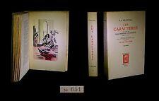 LA BRUYERE (Jean de) - BOUCHER (Lucien, ill. de) - Les Caractères. 2/2.