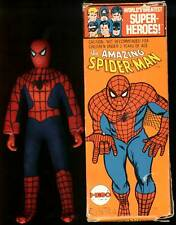 Vintage Mego WGSH 8 inch T1 Spiderman in Original Box