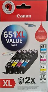 Canon CLI651XL (CLI651XLVP) Ink Cartridge - Value Pack