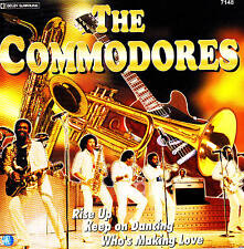 """The Commodores """" Rise Up and More """" Top Album! CD New & orig. Box Planet 2002"""
