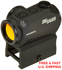 SIG SAUER SOR50000 Romeo5 1x20mm Compact 2 Moa Red Dot Sight MOTAC SHOCKPROOF