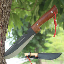 "Thai Knife 7"" Bowie Fixed Blade Full Tang Tactical Hunting Survival With Sheath"