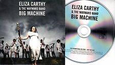 ELIZA CARTHY & THE WAYWARD BAND Big Machine 2017 UK 11-trk promo test CD