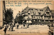 CPA  Deauville - Rue Gontaut-Biron  (383480)