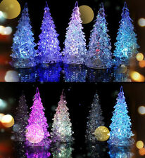 High Quality LED Light Crystal Xmas Christmas Tree Decoration Home Party Decor