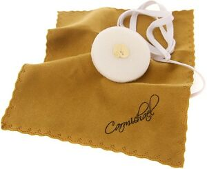 Carmichael Alto Saxophone Body Pull Through - Faux Chamois Cloth Body Cleaner