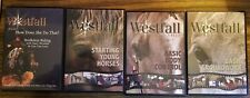 Stacy Westfall Lot of 4 Dvds Body Control, Bridleless, Starting, Groundword