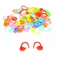 100 pcs/pack Knitting Craft Crochet Locking Stitch Markers Clip Hold Needle C8H1