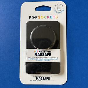MAGSAFE Popsockets Popwallet+ (Plus) - Black - Magnetic Wallet