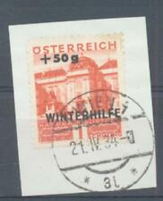 Austria 1933 Winter Relief 1+50 sg.715 used on piece