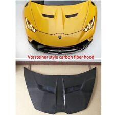 Carbon Fiber Front Hood Lid Bonnet Fit for Lamborghini Huracan LP610 Vorsteiner