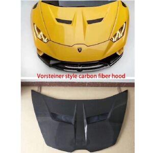 Carbon Fiber Front Hood Lid Bonnet Fit for Lamborghini Huracan LP610