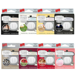 YANKEE CANDLE CHARMING SCENT FRAGRANCE REFILLS  CARS LAST UPTO 30 DAYS * SELECT*