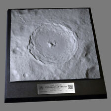 MASTER REPLICAS Moon Space Terrain: Tycho Crater LE Plaque NEW