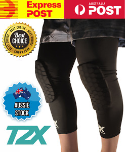 T2X HEX-TEK™ Basketball Compression Leg Sleeves Pair (Guard Protection McDavid)