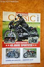 Motorrad Classic 5/97 Harley Sportster Victoria Kawasak
