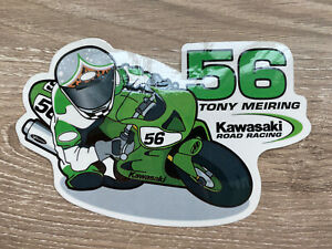 Tony Meiring Kawasaki Road Racing AMA Superbike Sticker