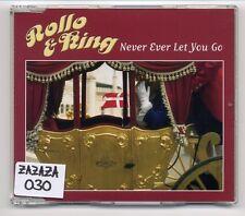 Rollo & King Maxi-CD Never Ever Let You Go - ESC Eurovision 2001 - German 3-tr.