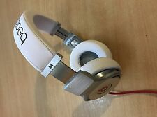 white Monster Beats  Pro By Dr Dre in good condition UK seller
