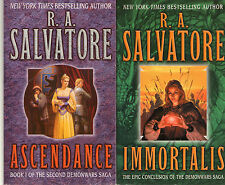 Complete Set Series Lot of 7 DemonWars & 2nd Demon Wars Saga by R.A. Salvatore