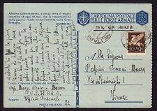 POSTA MILITARE 1942 Franchigia PA da PM 22 a Firenze (FM8)