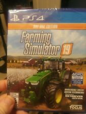 Farming Simulator 19 Day One Edition Playstation 4 PS4 BRAND NEW FACTORY SEALED