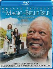 The Magic of Belle Isle (Blu-ray) Morgan Freeman NEW