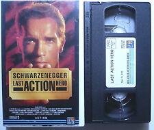LAST ACTION HERO - Arnold Schwarzenegger, F. Murray Abraham - VHS